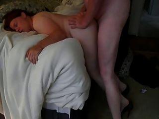 Tochter im Schlafzimmer