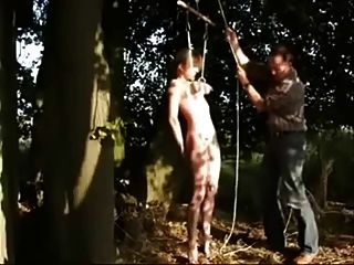 meine Schlampe Slave gefickt im Freien. Amateur