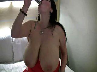 bbw mit großen Titten Masturbation
