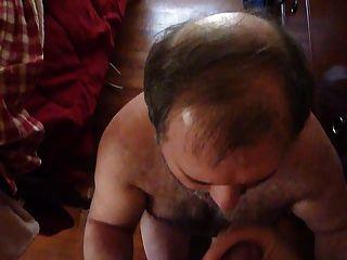 verheiratet Papa Bär liebt meinen Schwanz.