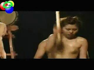 Taiko japanstraditional Trommel ... und Sex Linie