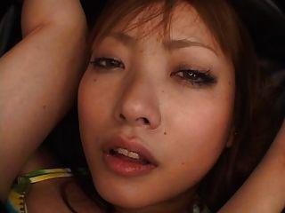 Yuka, anale Masturbation