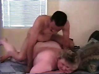 mein Fett reifen Frau Arsch von jüngeren schwarzen Stier gefickt
