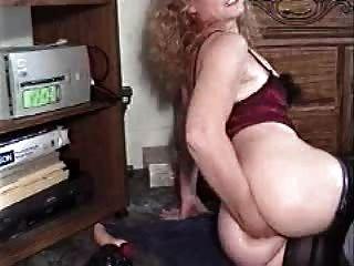 Dame Arsch auf Cam Fisting