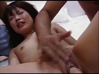 hübschen japanischen Mädchen GEFISTET