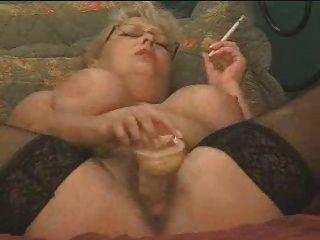 Rauchen und spritz