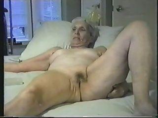 alte Frau esposed für alle Internet-Voyeure Nackt