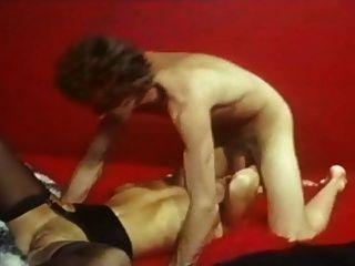 John Holmes mit blonde hot girl - großen Schwanz