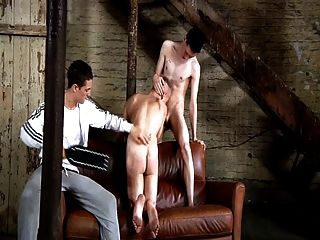 bdsm Sklave Homosexuell Junge muss schwule jungs blasen
