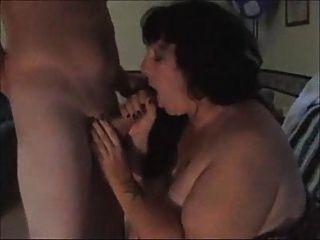 Fett Frau Fremde abzusaugen