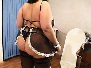 bbw mit großen Titten im Raum