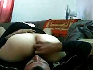 Arabisches Mädchen im Büro gefickt