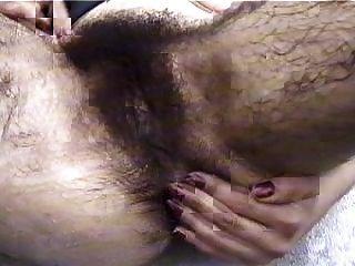 sehr haarige Muschi - LS12