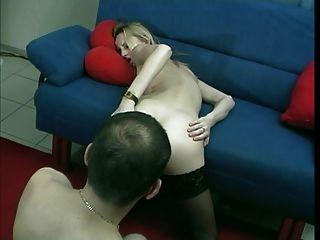 Deutsch winzige blonde Milf Amateur anal