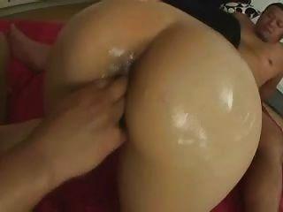 haarige nass japanische asiatische Mädchen Dreier Doppel Creampie