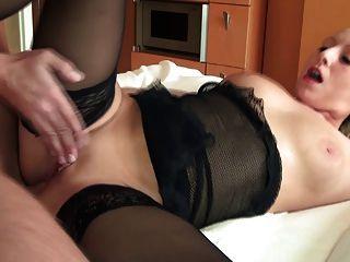 vollbusige Deutsch Küken hat anal