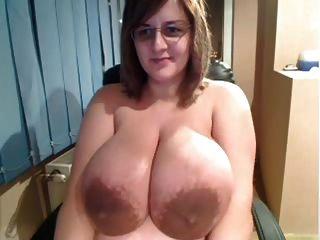 massiven Titten auf Webcam