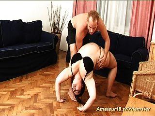heiße Fett Mädchen auch extrem flexibel