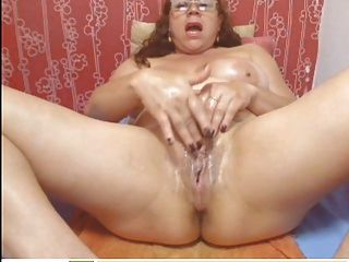 webcam - kolumbianisch Oma MILF necken (kein Ton)