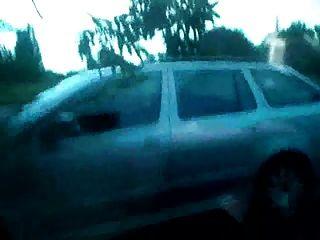 Homosexuell älterer Mann im Auto - s11