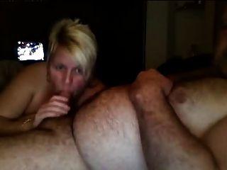 reifen Englisch Paar auf Webcam saugen und ficken