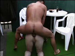 sexy Mutter 57 Rotschopf reifen mit einem & junger Mann