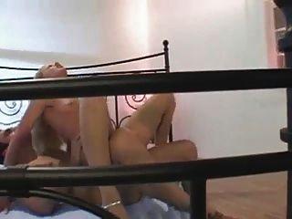 slowakisch spannende Mädchen bekommt in Strümpfen s88 Analsex