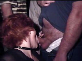 reife Frau blowbang in porncinema
