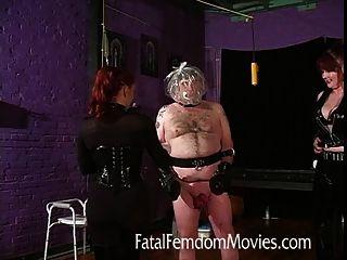 Ball Inflation und Erstickungsgefahr für die komplette Slave hoch!