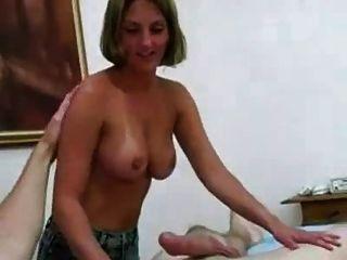 eine Massage, cum für!