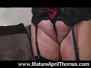 April thomas Dildo ficken