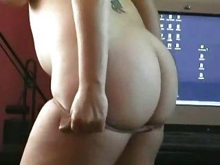 Fett mollig ex gf spielen mit ihren großen Titten und haarige Muschi