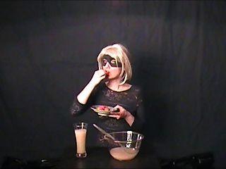 gokkun-Amateur Getränke drei Gläser cum!