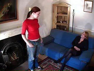 lesbischen Prügel