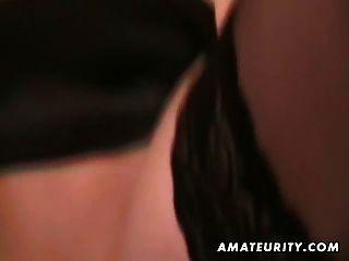hot blonde Amateur Freundin saugt und fickt mit Gesichts