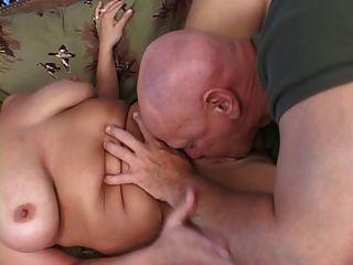 blonde bbw wird gefickt und Titten abgemolken