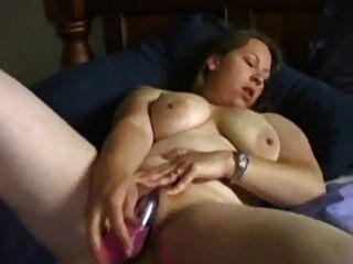 geil bbw Ex-Freundin mit Vibrator masturbiert