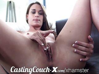 Casting für $ zu tun Porno Couch-x Georgia Peach begeistert