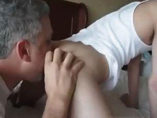 Arschlecken RIMMING 2 Papas 1 Junge Hahn