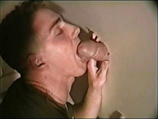heißen Homosexuell Glory Hole bj schönen großen fetten Schwanz