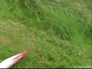 Outdoor-Fick, Deutsch Paar Spaß haben