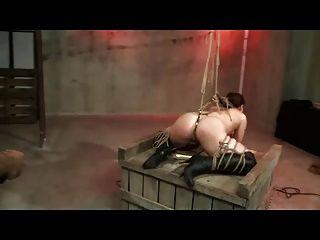 Shibari Bondage und Prügel
