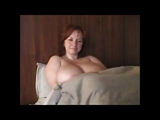bbw Milf Rotschopf mit riesigen Titten # 2