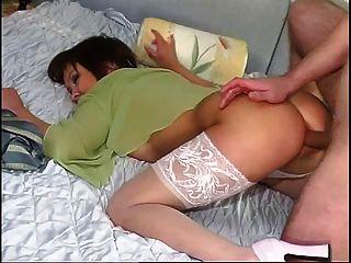Nachbar Frau anal Creampie
