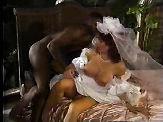 weiße Braut schwarzen Hahn