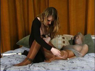 Arsch, Muschi und Fuß whorship Slave-Teil 3