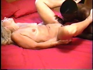hot blonde Milf mit schwarzen Liebhaber