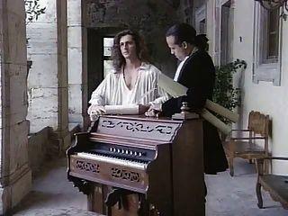 der Komponist voller Vintage-Film