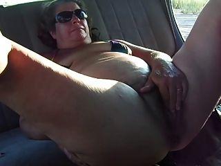 Fett Oma Masturbation