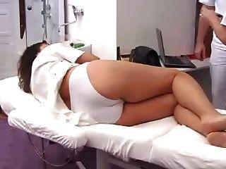 Voll Gynäkomastie Prüfung der schwangeren Frau